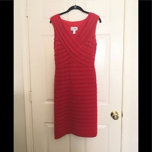 Joseph Ribkoff red bandage dress